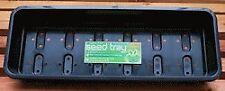 Garland G126B Black Plastic Narrow Seed Trays