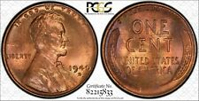 1940-D Toned Lincoln Cent ~ PCGS MS66RB ~ Tab Toning
