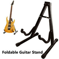 A FRAME UNIVERSAL FOLDABLE GUITAR STAND FITS ALL GUITARS ACOUSTIC ELECTRIC BASS.
