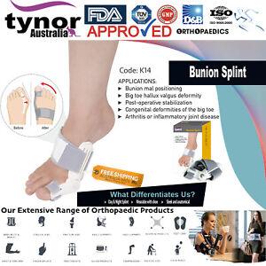 Tynor™ Bunion Corrector Splint Hammer Toe Straightener Brace Hallux Valgus Pain