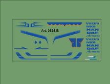 H0/1:87 DIS 0635-B Decalsatz•Universal für Volvo,Iveco,DAF,MAN,Actros, geeignet