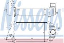 Brand New Intercooler for SUZUKI 96465 Nissens Top Quality