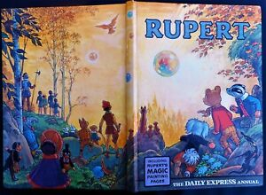1968 RUPERT BEAR ANNUAL, UNSCRIBED/UNCLIPPED 6/-, MOST MAGIC PAINTINGS UNTOUCHED