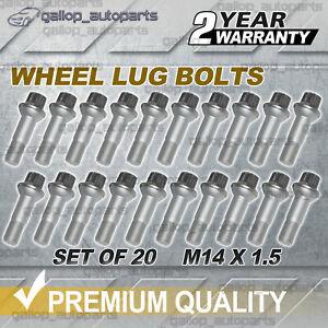 20x Wheel Lug Bolts for Mercedes Benz W221 C216 W164 V222 X204 W251 X166 M14x1.5