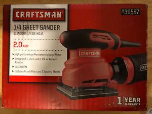 Craftsman 2 Amp 1/4 Sheet Sander