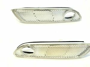 NEW Rolls Royce Ghost Wraith Dawn Front Left & Right Side Marker Lights 2 PCS