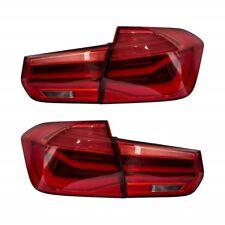 2 FEUX ARRIERE LED LOOK PHASE 2 POUR BMW SERIE 3 F30 PHASE 1 DE 11/2011-08/2015