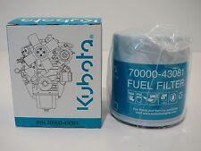 New Kubota FUEL FILTER 15221-43080, 70000-43080, 70000-43081, 15221-43080