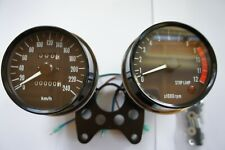 NEW KPH KMH TACHOMETER AND  SPEEDOMETER CLOCK SET METER SET  KAWASAKI Z1A Z1B