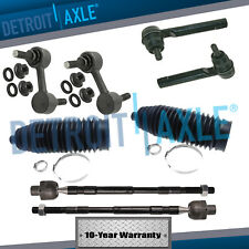2006-2014 for Subaru Tribeca Front Sway Bar Link Set & Inner Outer Tie Rod Ends