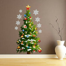 Large Christmas Tree Wall Stickers Window Decal Mural Home Wall Decor Removable