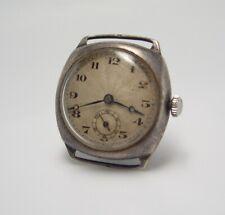 Vintage 1933 Dennison silver case Rands Watch wristwatch W 88