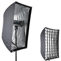 """Neewer Photo Studio 24"""" x 36""""/60 x 90cm Rectangle Speedlite Softbox with Grid"""