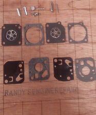 New Zama RB 29 OEM C1U Carburetor Overhaul Rebuild Repair Kit US Seller