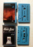 Cassette: The Moody Blues: To Our Childrens Children + Octave: Blue side loader
