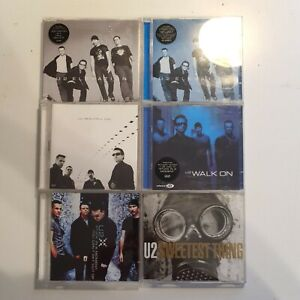 U2 All That You Can't Leave Behind CD Singles Beautiful Day