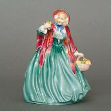 "Antique Royal Doulton England Lady Charmian HN 1948 Figurine MT 8"" Tall"