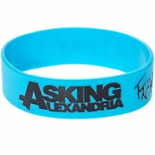 ASKING ALEXANDRIA Wristband Bracelet Braccialetto OFFICIAL MERCHANDISE