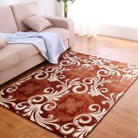 Rectangle Living Room Carpet Anti-Slip Area Rug Home Bedroom Decor Floor Mat