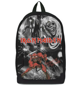 Iron Maiden Number Beast Monochrome Backpack Back Pack Rucksack Official Merch