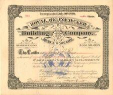 Royal Arcanum Club Building Company of Baltimore City
