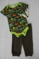 NEW Baby Boys 2 piece Outfit 0 - 3 Months Bodysuit Pants Set Camouflage Hunting