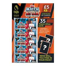 EPL Match Attax 2018/19 Football Trading Card Game Multipack