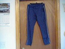 BRAND NEW WOMEN'S SIZE 10 METAPHOR PRINT FLAT PANTS