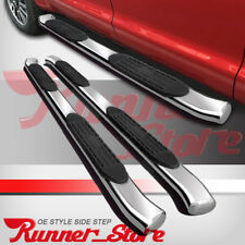 "For 17-20 Ford F250 Superduty Crew Cab 4"" Running Board Side Step Bar Curved A"