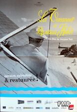 MR HULOT'S HOLIDAY - TATI - LES VACANCES DE MONSIEUR HULOT SMALL REISSUE POSTER