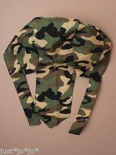 Camouflage Camo Cap Bandanna Army Play Hat Dress Up Bandana Child Boy Girl (176)