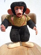 Peluche singe chimpanzé jouet ancien no Steiff d'époque Vintage