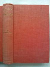 G M Trevelyan.History Of England.H/B 1947,Foldout Maps + News Cutting