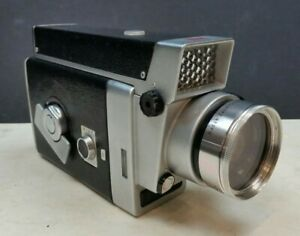Kodak Zoom 8 Reflex Cine Film Camera 1960s Wind-Up Vintage Ektanar f1.9 8mm 16mm