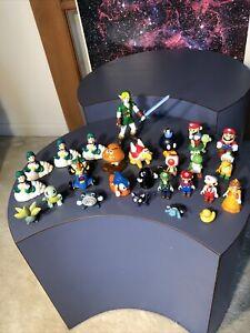 Big Lot of Various Nintendo Super Mario, Pokémon Loose Toys