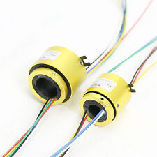 MT1233 SLIP RINGS WITH BORE SIZE 12.7mm(0.5''),12 wires/5A each,MOFLON slip ring