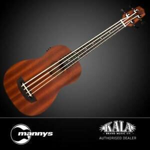 Kala UBASS-WNDR-FS Wanderer Acoustic-Electric U-BASS inc Gig Bag