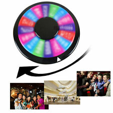 "Upgraded Editable 12"" Color Prize Wheel of Fortune Trade Show Tabletop Spin Game"