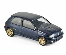 Norev 1:43 1993 Renault Clio Williams Jetcar Blue Car Model Diecast Detailed
