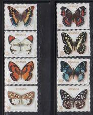 Rwanda 905-12 Butterflies Mint NH
