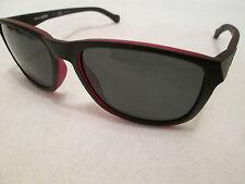 Arnette black / red frame Straight Cut sunglasses.