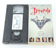 Bram Stoker's Dracula VHS Keanu Reeves Winona Ryder 1993