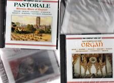 100 Doppel CD Leerhüllen Hüllen mit Tray Jewel Case NEU ACHTUNG gefüllt mit CDs