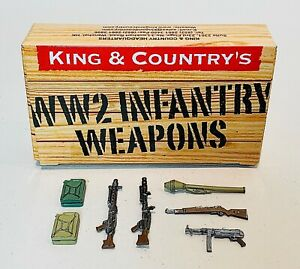 King & Country WWII German Weapons & Accessories Set (WS321)
