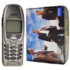 NUOVO Originale Nokia 6310i Lightning Argento Sbloccato di fabbrica da collezione 2G SIMFREE