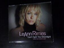 CD SINGLE - LEANN RIMES - CAN'T FIGHT THE MOONLIGHT