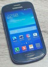 Samsung Galaxy S III mini GT-I8200N - 8GB - Blau (Ohne Simlock) Smartphone
