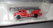 """Brekina 47071 Mercedes L1519 DLK 30 Drehleiter Feuerwehr """" rot-weiß """"  _ H4455"""