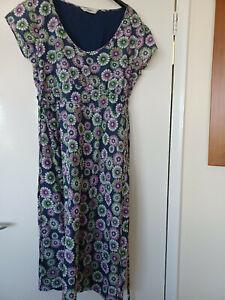 Seasalt Mermaid Floral Pattern Dress Size 12