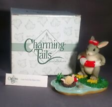 Fitz and Floyd Charming Tails Figurine Come on In the Water's Fine Item 83/804